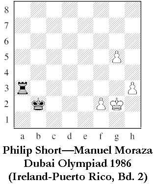 Short-Moraza, Dubai Olympiad 1986