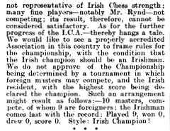 Chess Amateur 1906 vol. 1 no. 1, p. 9