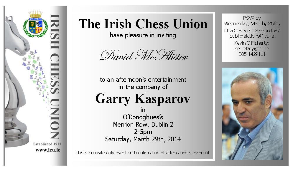 Garry Kasparov Meeting